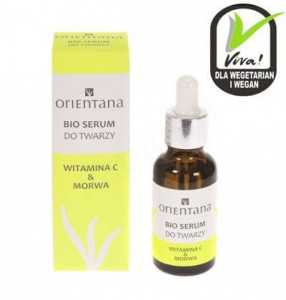 ORIENTANA Bio serum do twarzy WITAMINA C & MORWA - 30ml