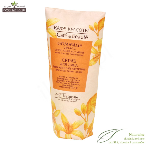 LE CAFE DE BEAUTE Peeling do twarzy KOKTAJL WITAMINOWY  - 100ml