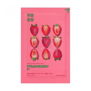 HOLIKA HOLIKA Maska w płacie Pure Essence Mask Sheet - Strawberry - 1szt.