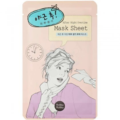 Holika Holika After Mask Sheet - After working overtime.jpg